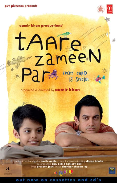 film india every child is special cinema bucket taare zameen par hindi movie poster watch