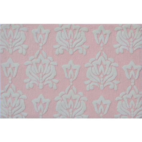 Pink Outdoor Rugs Damask Pink Indoor Outdoor Rug Tufted