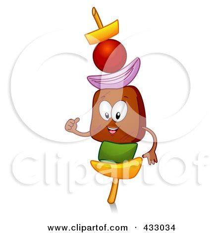 kebab clipart royalty free rf clipart illustration of a kebab