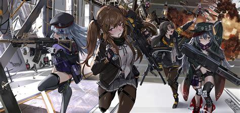 hk ump  ump girls frontline drawn