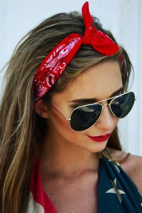 inspirierende ideen fuer coole bandana frisuren