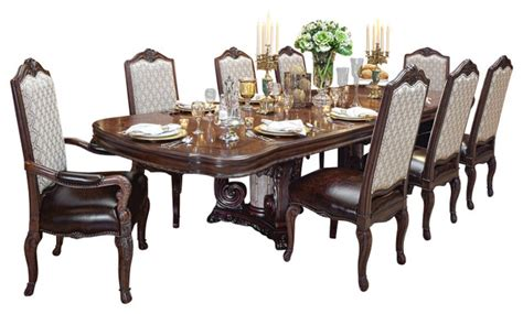 10 Seat Dining Room Set victoria palace 7 piece dining table set victorian