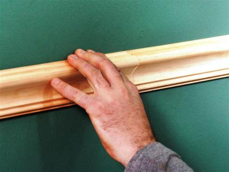 cutting chair rail corners install a chair rail how tos diy