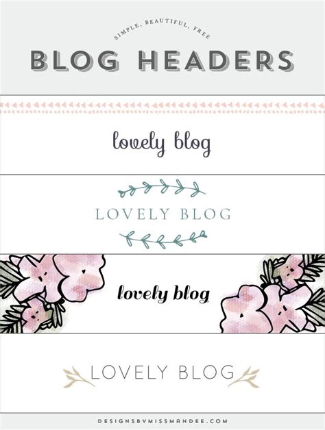 1000 ideas about blog headers on pinterest blogger