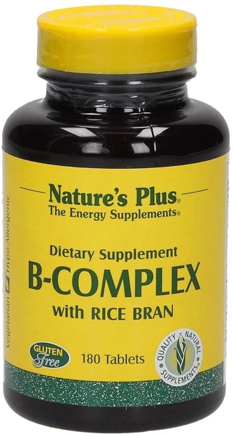Sale Nature S Plus Mega B 100 S R 60 Tabs Produksi Energi Alami vitamin b complex with rice bran nature s plus vitalabo shop europe