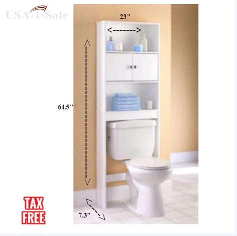 white towel storage cabinet 3 shelf bathroom organizer cabinet over the toilet storage