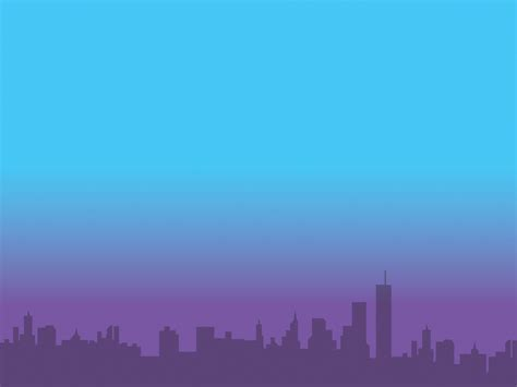 city view powerpoint template background for a purple city powerpoint templates buildings landmarks