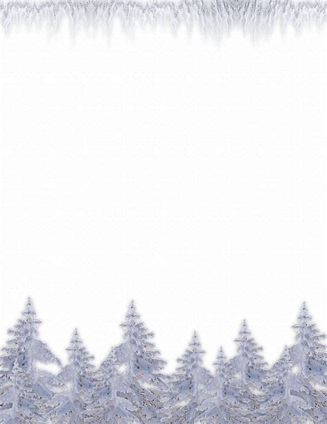 Printable Nature Stationery | nature stationery themes page 1