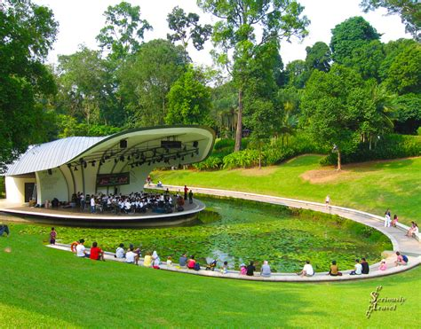 A True Garden Of Eden Singapore S Botanical Garden Photo Concert At Botanic Gardens