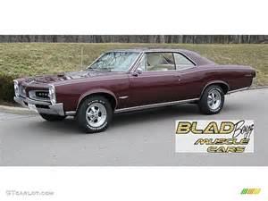 Pontiac Gto 1966 1966 Burgundy Pontiac Gto Hardtop 60696611 Gtcarlot