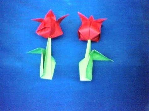 tutorial membuat origami bentuk bunga membuat origami tutorial origami bunga youtube