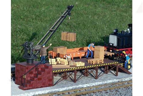 Garden Railway Accessories Piko 62077 G Scale Loading Crane Garden Railways