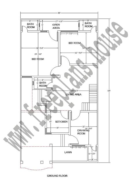 35 square meters 35 215 65 feet 211 square meters house plan