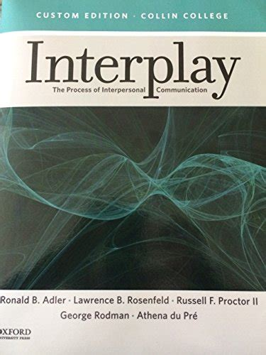 interplay the process of interpersonal communication books mpbbooks just launched on in usa marketplace