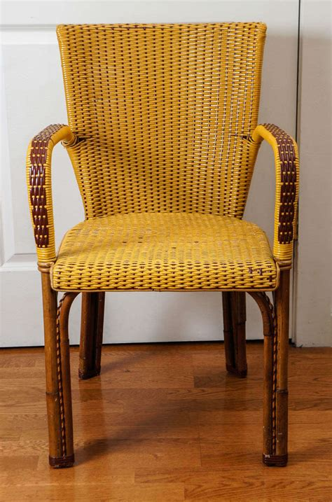 bistro chairs for sale wicker bistro chairs for sale at 1stdibs