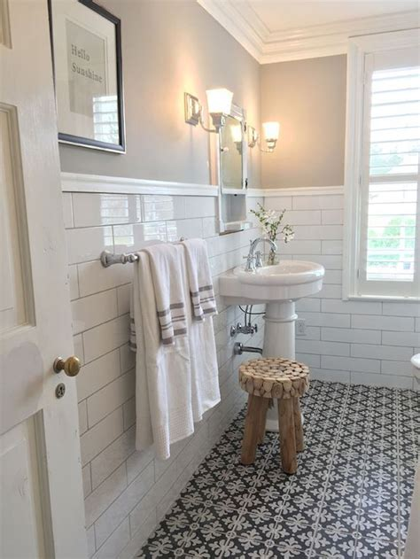 old bathroom ideas vintage farmhouse bathroom remodel ideas on a budget 45