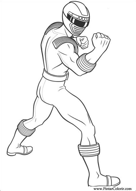 Barbie Coloring Pages Power Rangers | drawings to paint colour power rangers print design 007