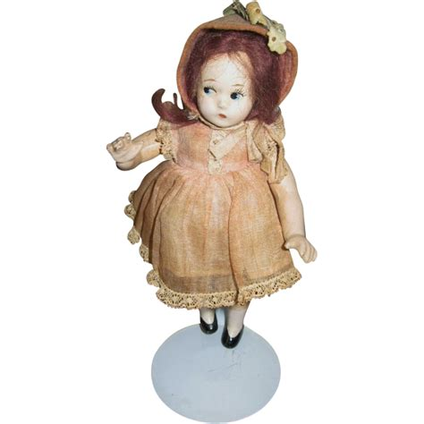 composition dolls 1930s mme 7 quot tiny betty doll 1930s composition from