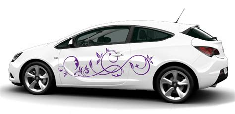 Pinke Blumen Aufkleber F Rs Auto by Auto Aufkleber De Kreative Autoaufkleber Als Autotattoo