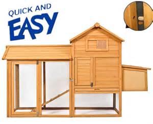hen hutches deluxe large wooden chicken coop rabbit hutch hen house