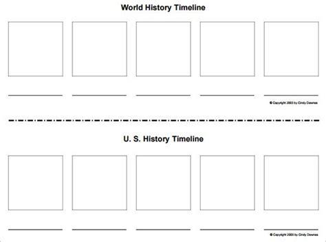 6 Blank Timelines Website Wordpress Blog Timeline Generator Printable