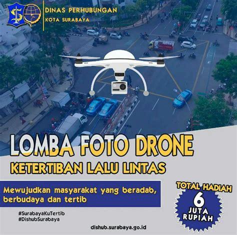 Drone Di Surabaya surabaya tertib lalu lintas