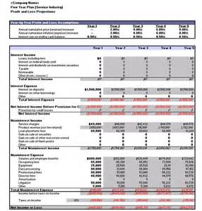 Free 5 Year Business Plan Template by Bank Reconciliation Template Microsoft Office Templates