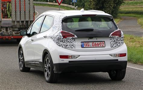 opel germany 2017 opel ampera e spied in germany looks almost ready