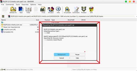 repair and extract corrupted rar file repair winrar files repair corrupt rar files download free software aefreeware