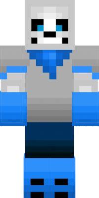 underswap sans minecraft skins sans underswap nova skin