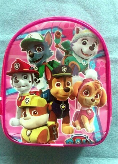 dulceros de paw patrol 10 mochilas dulceros de paw patrol para fiesta surtidas