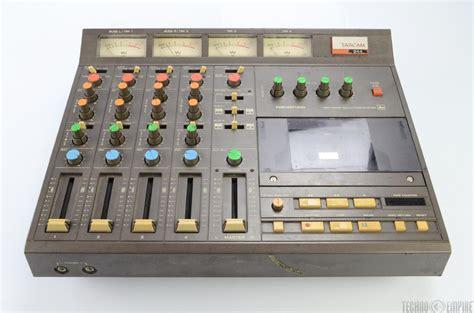 tascam portastudio cassette tascam 244 portastudio 4 track cassette recorder w soft