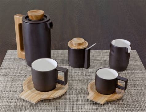 Coffee Set purple clay coffee set by jia inc 187 gadget flow