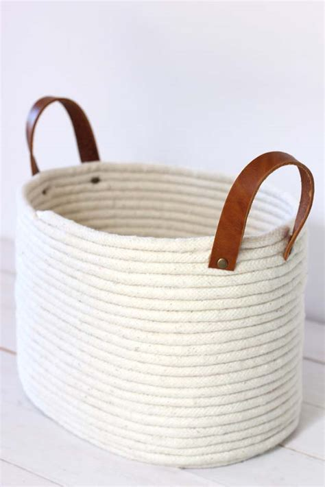 Rope Bag Diy - 20 glue gun craft ideas that will knock your