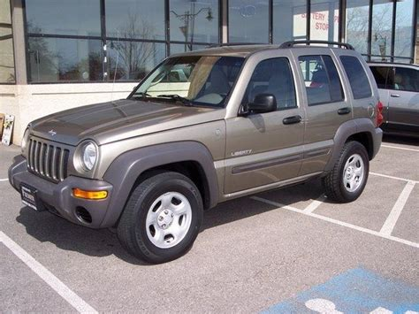 gold jeep liberty 2004 jeep liberty rocky mountain edition 2wd jeep colors