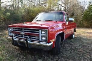 1986 chevrolet c10 silverado shortbed truck for