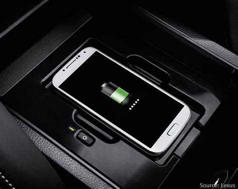 lexus wireless charging aircharge