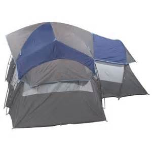 13x13 Coleman Canopy by Amazon Com Coleman 3 Room 8 Person Tent 13x13
