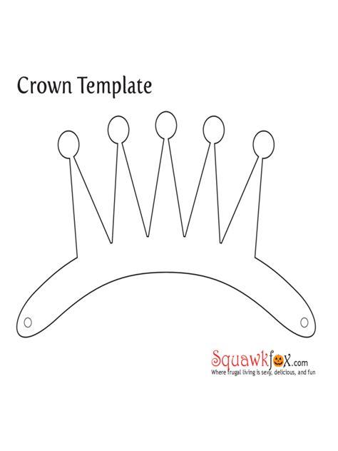 crown template pdf crown template 5 free templates in pdf word excel