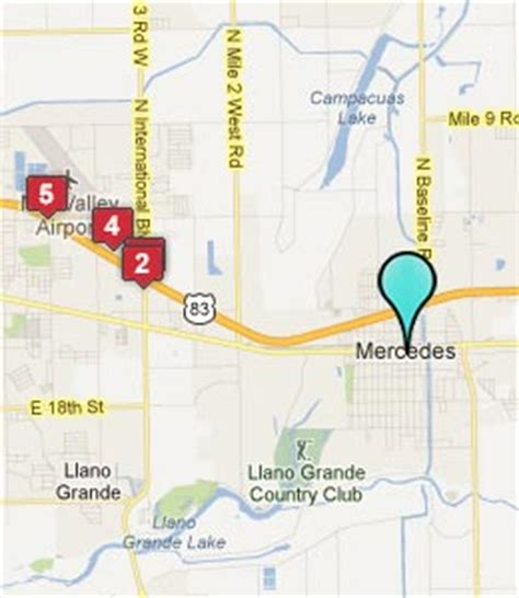 map of mercedes texas mercedes tx hotels motels see all discounts