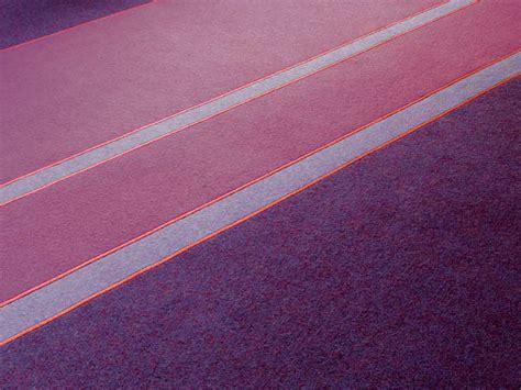 teppich aus filz streifen teppich aus filz fashion kollektion feltro by
