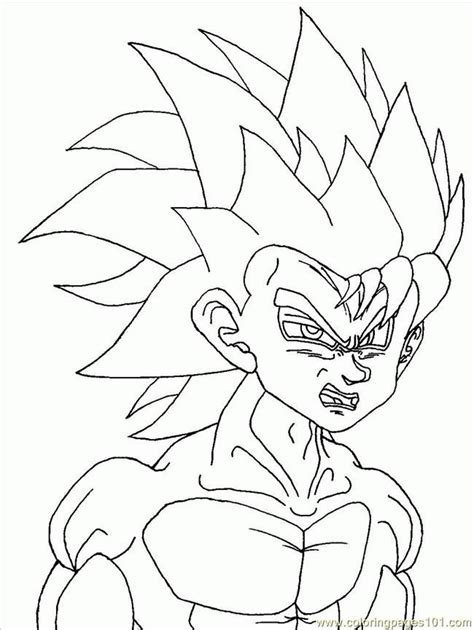 goku coloring pictures az coloring pages