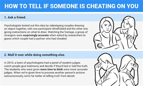 infographic seven ways to know if your partner is