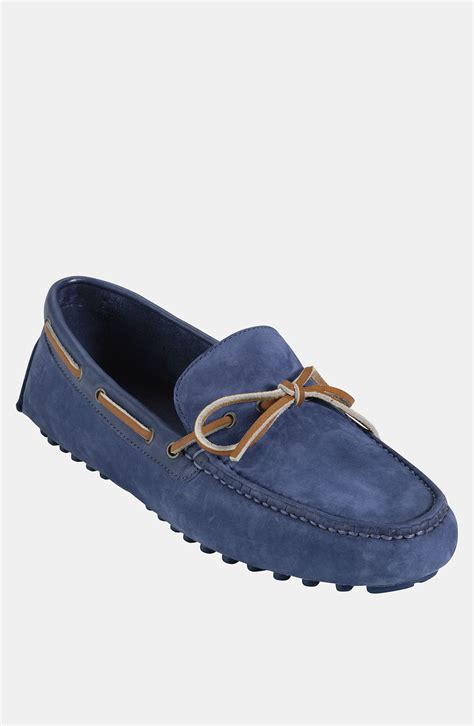 cole haan driving shoes lyst cole haan air grant driving shoe in blue for