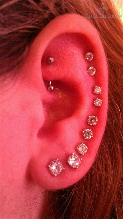 auricle piercing pictures and images page 6