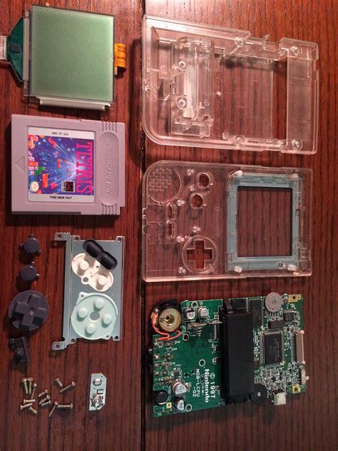 gameboy raspberry pi case mod xodustech raspberry pi gameboy pocket