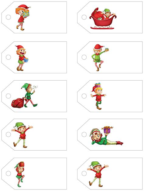 printable christmas labels for presents santa s little gift to you free printable gift tags and