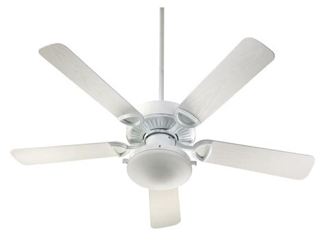 quorum international ceiling fan light kits quorum international 143525 906 white estate 5 blade 52