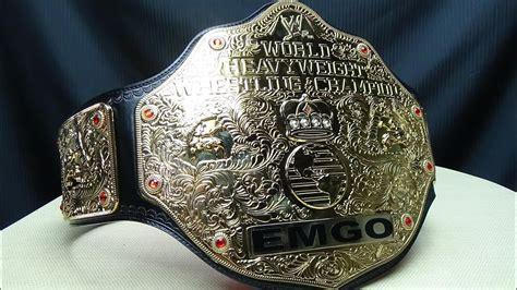 wwe world heavyweight championshipbig gold replica emgo