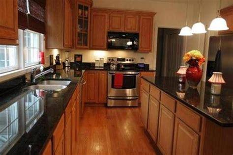 honey oak cabinets with black granite countertops google black granite kitchen countertops oak cabinets google